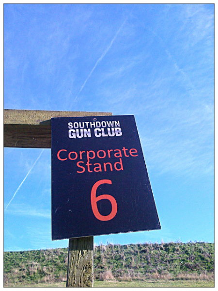 southdown gun club corporate stand